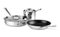 All-Clad Stainless Nonstick Cookware Set