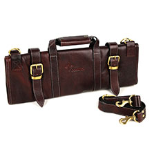 Boldric 17-pocket Leather Knife Bags