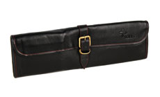 Boldric 8-pocket Leather One Buckle Knife Rolls