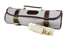Boldric 9-pocket Canvas Knife Rolls