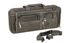 Ultimate Edge 18-pocket Evolution Deluxe Oil Wax Canvas Knife Bag