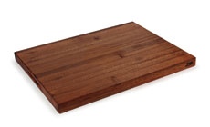 Jones Sapele Edge Grain Cutting Board