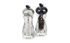 Swissmar Acrylic Salt & Pepper Mill Set with Granite Top