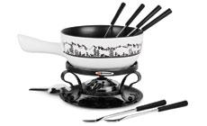 Swissmar Heidi Ceramic Fondue Set