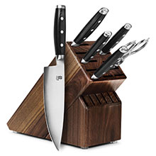 Yaxell Dragon 7-piece Knife Block Set