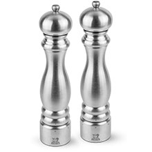 Peugeot Paris Stainless Steel 12-inch u'Select Salt & Pepper Mill Set