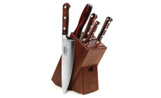 Lamson Silver Knife Block Set
