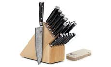 Mcusta Zanmai Classic 17-piece Knife Block Sets