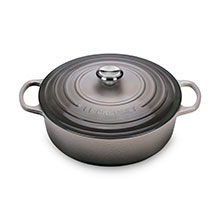 Le Creuset Signature Cast Iron 6¾-quart Round Wide Dutch Ovens