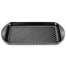 Le Creuset Cast Iron 15¾ x 9-inch XL Double Burner Grill Pans