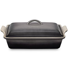 Le Creuset Stoneware 4-quart Heritage Covered Rectangular Dishes