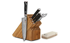 Mcusta Zanmai Classic 7-piece Knife Block Sets