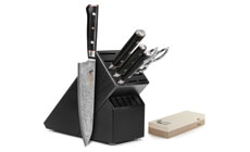 Mcusta Zanmai Classic 7-piece Knife Block Sets