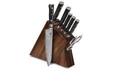 Mcusta Zanmai Classic 8-piece Slim Knife Block Sets