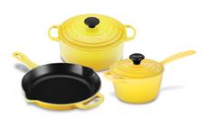 Le Creuset Signature Cast Iron Soleil Cookware Sets