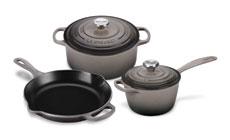 Le Creuset Signature Cast Iron 5-piece Cookware Sets