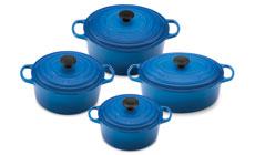 Le Creuset Signature Cast Iron 8-piece Dutch Oven Cookware Sets