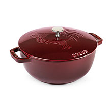 Staub 3¾-quart Rooster Design Essential French Ovens