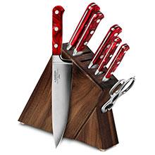 Lamson Fire 8-piece Slim Knife Block Sets