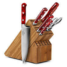 Lamson Fire 7-piece Knife Block Sets