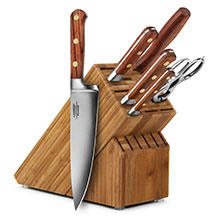 Lamson Rosewood 7-piece Knife Block Sets