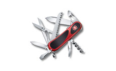 Victorinox Swiss Army Red & Black EvoGrip S17 Pocket Knife
