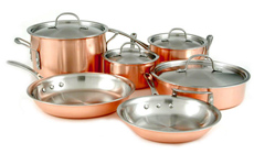 Calphalon Tri-Ply Copper Premier Cookware Set