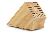 Messermeister Natural Wood Swivel Knife Block