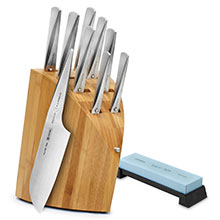 Chroma Type 301 Knife Block Set with Bonus Water Stone