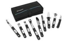 Messermeister Culinary Instruments 10-piece Garnishing Set