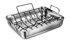 Calphalon Contemporary Stainless Roasting Pan Set