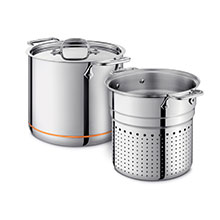All-Clad Copper Core Pasta Pentola Stock Pot with Insert
