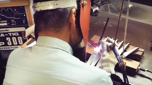 The Making of Global SAI Knives