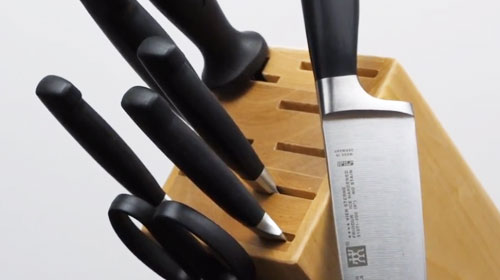 Zwilling J.A. Henckels Four Star Knife Block Set
