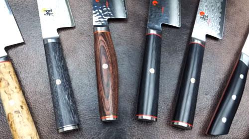 Miyabi Complete Lineup Knife Comparison