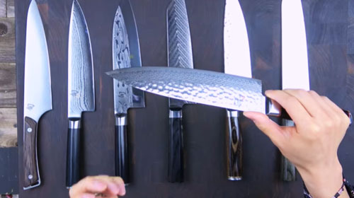 Shun Chef Knives Complete Lineup Comparison