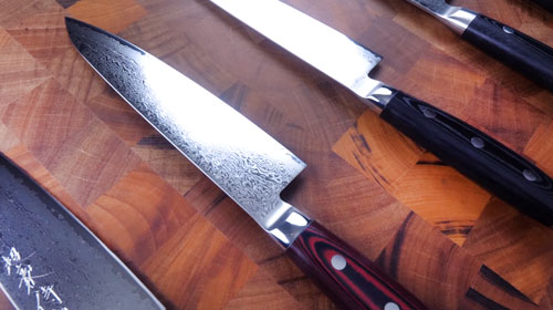 Yaxell Cutlery Entire VG10 & SG2 Chef Knife Lineup