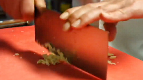 Using your Lamson 8-inch Chinese Vegetable Cleaver
