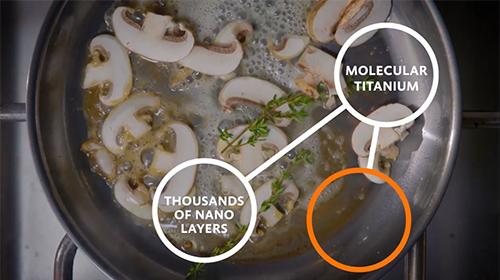 Hestan NanoBond Titanium Stainless Steel Cookware